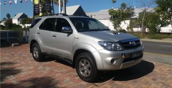 Buy preowned cars Toyota Fortuner Knysna Quality Ccars