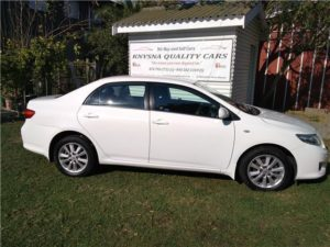 Corolla preowned cars Knysna Quality Cars