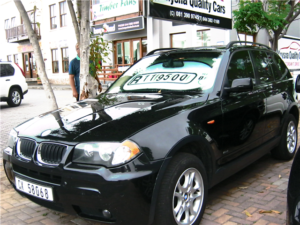 BMW X3 Knysna Quality Cars
